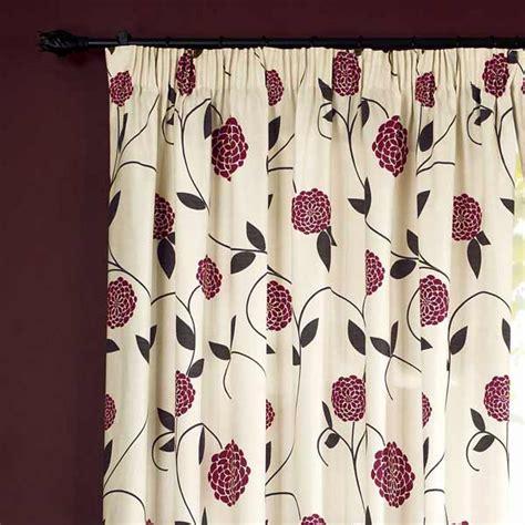 floral print drapes dreams n drapes rosemont floral print pencil pleat lined