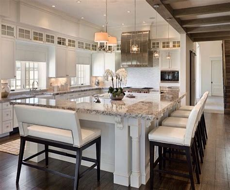 large kitchens with islands 25 best ideas about large dining rooms on pinterest