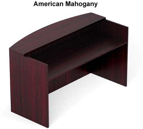 offices to go desk offices to go sl7130rds cheap office reception desk mahogany
