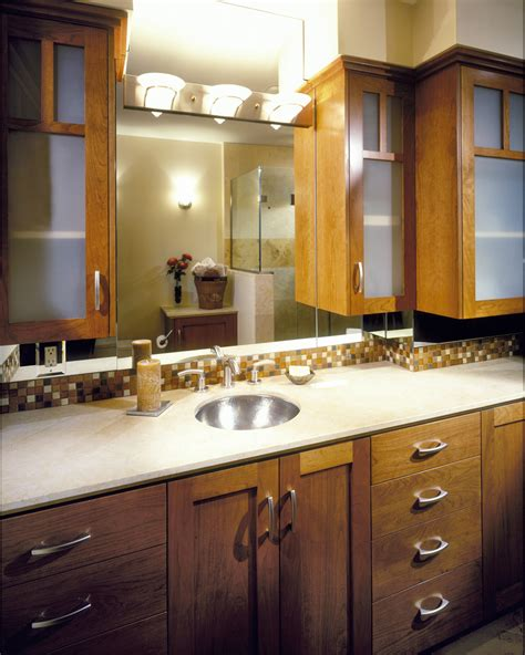 brown bathroom cabinets bathroom cabinet hardware spaces asian with accent tile