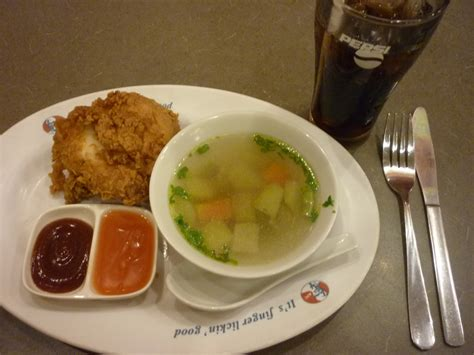 Soup Kfc kfc review around the world around the world travels