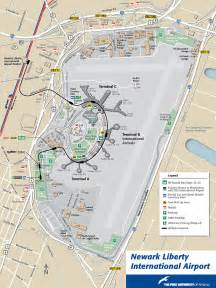 New York Newark Airport Map by Map Of Newark Newark Maps Mapsof Net