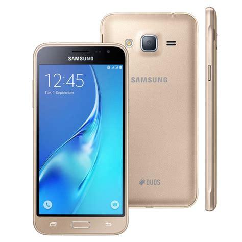 Samsung J3 Duos Smartphone Samsung Galaxy J3 Duos Sm J320m Ds Dourado