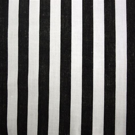 Black And White Upholstery Fabric Australia by Black White Cotton Pirate Stripe Fabric Per Metre Ebay