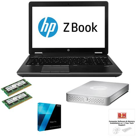 Hp Sony Pro b h photo portable workstation with hp zbook 17 3 quot sony