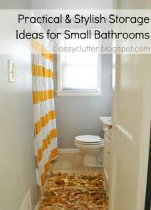 Ideas For Storage In Small Bathrooms by Practical And Stylish Storage Ideas For Small Bathrooms