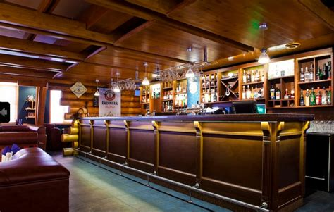banco pub bancone bar luminoso