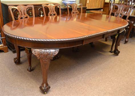 mahogany extending dining table c1920 antiques atlas