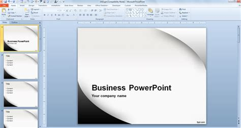 What Is The Recommended Powerpoint Template Size Powerpoint Presentation Template Size