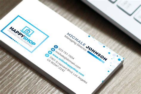 ecommerce business card template business card for e commerce or shop shopping