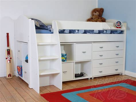 cabin bed with futon stompa rondo 3 cabin bed