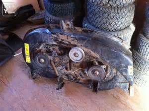 plateau de coupe 98 cm tracteur tondeuse autoport 233 e mtd