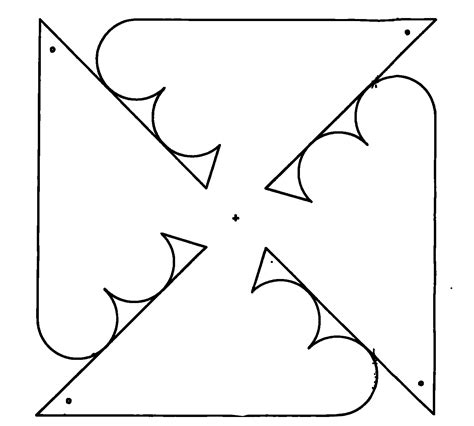 pinwheel template printable pinwheel templates