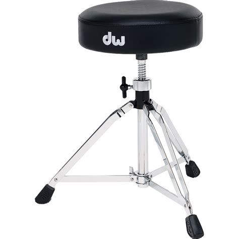 Dw Drum Stool by Dw Drums 5100 Series Drum Throne With Vise Memory Dwcp5100 B H