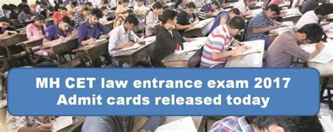 Mh Cet 2017 Mba by Mh Cet Entrance 2017 Admit Cards Released Today