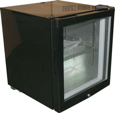 Ec50 Glass Door Mini Bar Fridge With Lock 38cans Channon Glass Door Mini Refrigerators