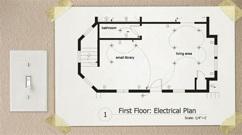 electrical symbols floor plan drawing electrical plans in autocad pluralsight