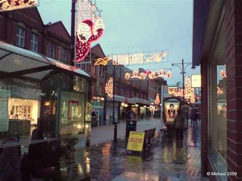 panoramio photo of christmas illuminations oldham