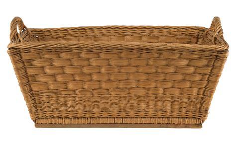 Home Table Decor by Vintage Wicker Basket Jayson Home