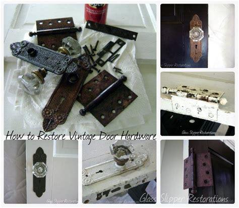 How To Restore Door Hardware by How To Restore Vintage Door Hardware Via