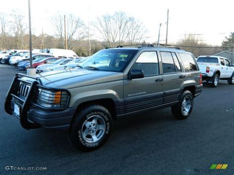 1998 char gold satin glow jeep grand laredo 4x4 59243405 gtcarlot car color