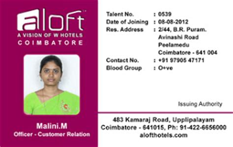 id card design exles webbience hotel identity card template 120826