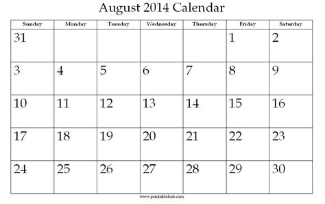 printable calendars july 2014 image gallery 2014 august alendeer