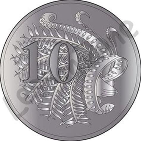 Australian Coins Outline by Lesson Zone Au Clip