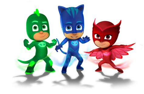 characters pj masks