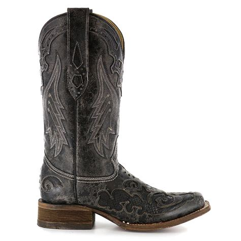 Southern Home Decor Stores by Corral Women S Square Toe Black Snake From Boot Barn Show