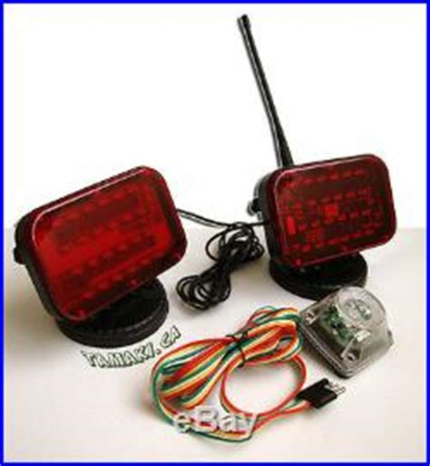 battery powered wireless towing lights long lasting led
