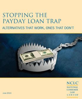 stopping the payday loan trap issues nclc
