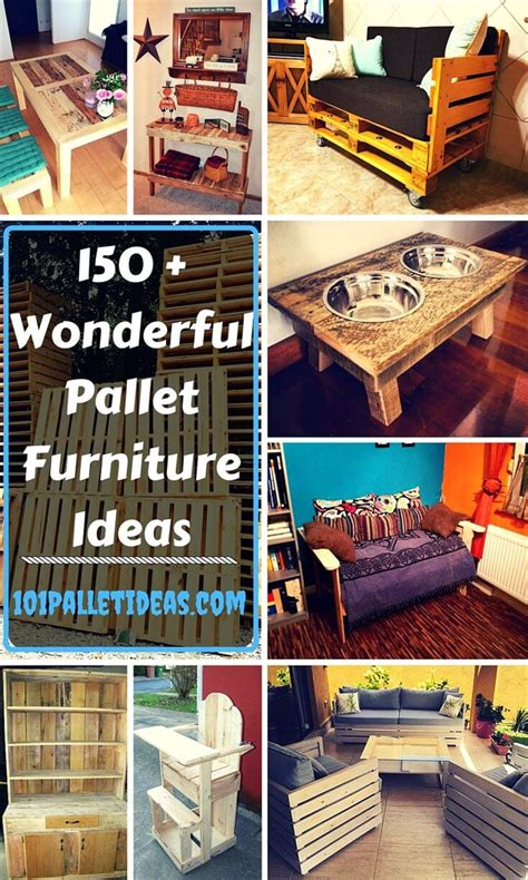 150 wonderful pallet furniture ideas page 7 of 16 101