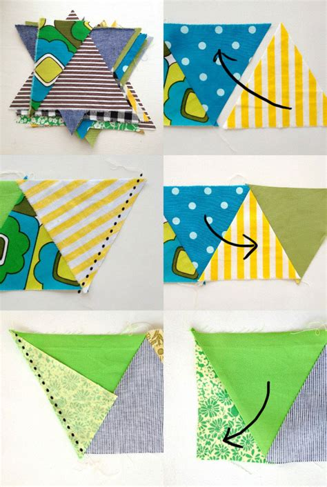 How To Sew A Quilt Together by Triangle Quiltalong Piecing Poppet Makes