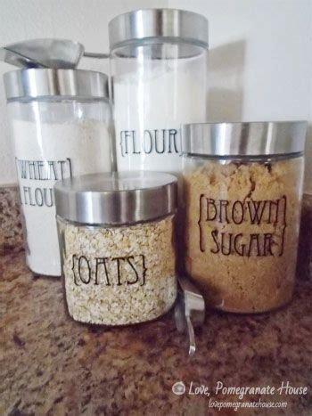 kitchen flour canisters best 25 kitchen canisters ideas on