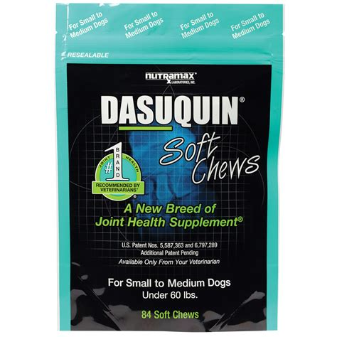 dasuquin for dogs dasuquin 174 soft chews for small to medium dogs 84 chews