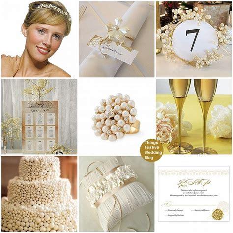 diamond pearl  gold wedding theme  festive