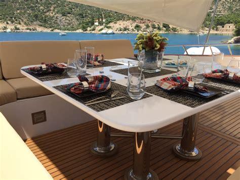 yacht upper deck oceane ii upper deck dining luxury yacht browser by