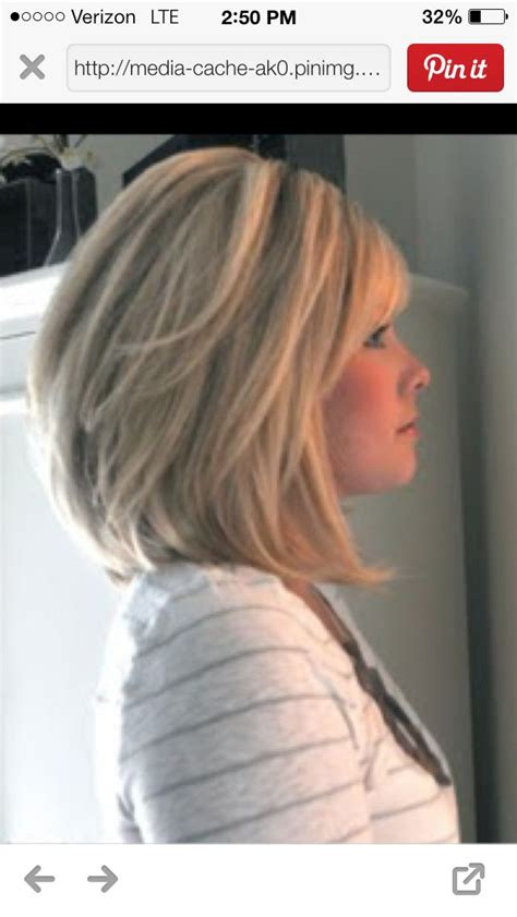 long stacked bob stacked long bob my style pinterest