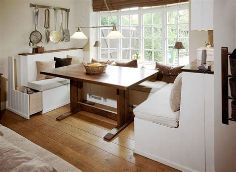 Storage Banquette Seating by 25 Space Savvy Banquettes With Built In Storage Underneath