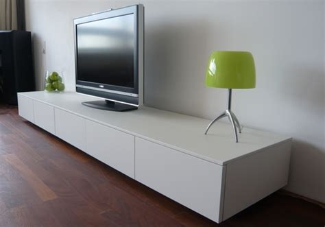 dresser as tv stand in living room
