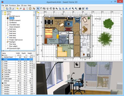 sweet 3d home design software download sweet home 3d download import it all