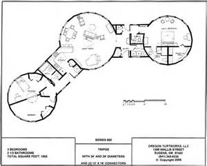 Pacific Yurt Floor Plans Interconnected Yurt House Or Separate Circular