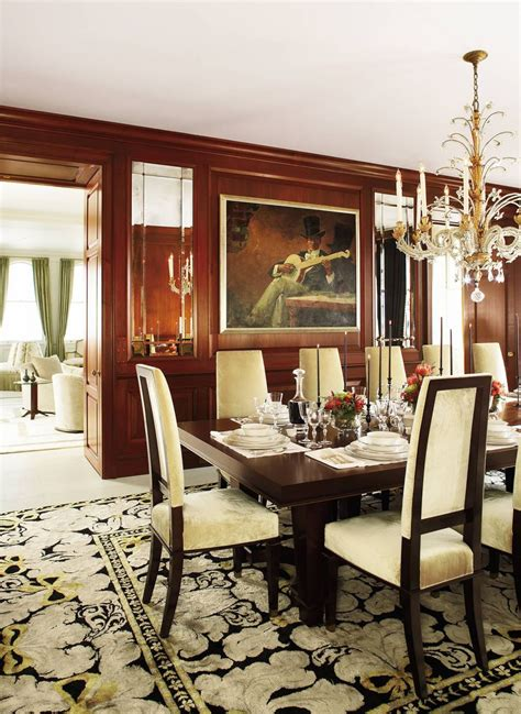 Dining Room Gorgeous Chandelier Above Elegant Formal Dining Room Sets With Long Teak Table And » Home Design 2017