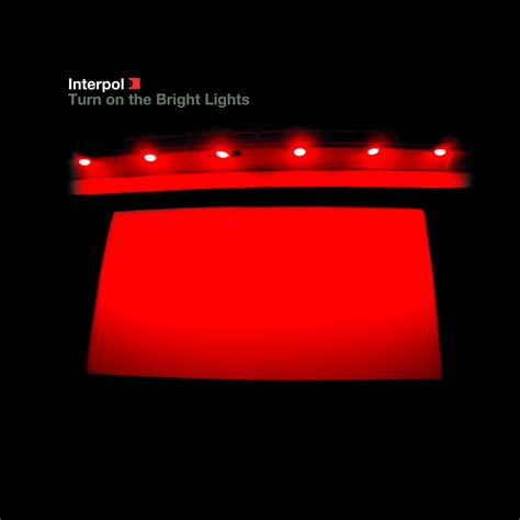 interpol turn on the bright lights love on pinterest