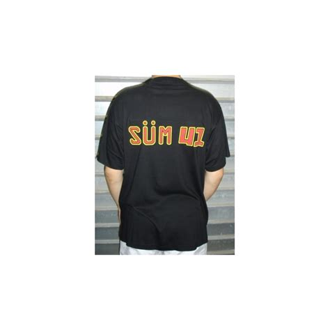 T Shirt 41 t shirt sum 41 exclusively and for cheap on