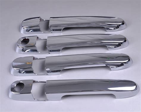 2009 hyundai accent door handle new chrome door handle cover trim for hyundai accent 2007
