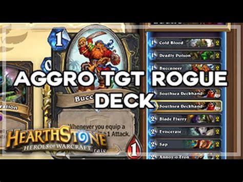 hearthpwn decks hearthstone aggro tgt rogue deck hearthpwn