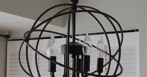 restoration hardware chandelier knockoff restoration hardware orb chandelier hometalk