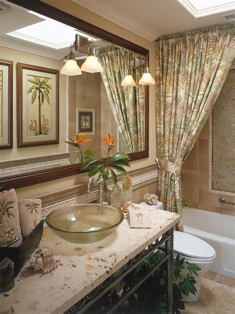 tropical bathroom design pictures remodel decor and